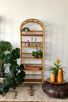Jahre Rattan Bambus Regal I am pleased to have the most recent addition to my to introduce: rattan bamboo shelf 70s Furniture, Cane Furniture, Bamboo Furniture, Furniture Design, Furniture Stores, Bamboo Shelf, Wicker Shelf, Vintage Fall Decor, 70s Home Decor