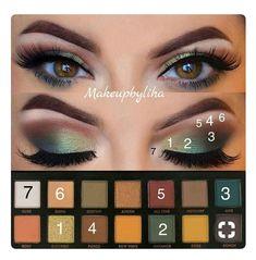 61 trendy makeup eyeshadow tutorial glitter 61 trendige Make-up Lidschatten Tutorial Glitzer # Eye Makeup Steps, Makeup Eye Looks, Eye Makeup Art, Skin Makeup, Eyeshadow Makeup, Makeup Brushes, Makeup Tips, Makeup Products, Dead Makeup