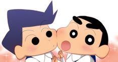Sinchan Wallpaper, Purple Wallpaper Iphone, Cartoon Wallpaper Iphone, Sinchan Cartoon, Doraemon Cartoon, Study Japanese, Crayon Shin Chan, Cartoons Love, Cute Anime Guys