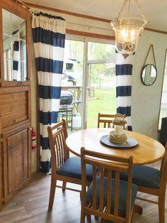 Dining table northlander remodel nautical park model reno
