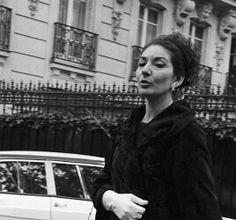 La Divina Callas em Paris.