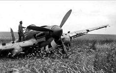 Ilyushin-2 shot down behind German lines