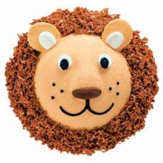 Zoo Party: Lovable lion cake - with instructions on how to decorate