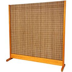 @Overstock - Set on a Philippine mahogany teak frame, this handmade freestanding bamboo room divider is ideal for any home or office. With tobacco and honey bamboo slats, this natural indoor room divider measures 6.25 feet high and 75 inches wide when standing.http://www.overstock.com/Worldstock-Fair-Trade/Tobacco-and-Bamboo-Honey-Room-Divider-China/5306225/product.html?CID=214117 $308.00