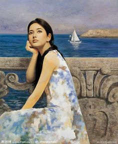 paintings by China painter Xie ChuYu