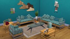 Sims 4 CC's - The Best: Livingroom by Leo Sims