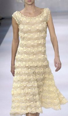 crochelinhasagulhas: Vestido de crochê de grampo