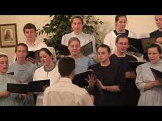 Medly : I'll Fly Away / Power in the Blood / At Calvary / When we all get to Heaven: sung Acapella by Calvary Mennonite Youth Group Singing in a Methodist Church in Dover TN.