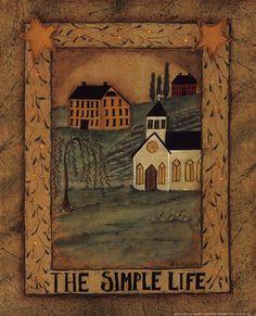 The Simple Life Fine-Art Print by Pat Fischer at UrbanLoftArt.com