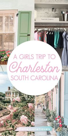 A guide to 4 days in Charleston, South Carolina including restaurants, bars, activities, shopping and Sullivan's Island - perfect for your next girl's trip!