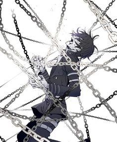 owari no seraph, anime, and death image