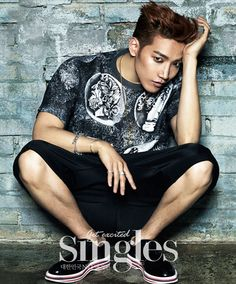 Jun.K - Singles Magazine June Issue '14