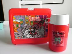 Vintage 1987 Pee Wee's Playhouse Lunchbox & by rightsideofthegrass,