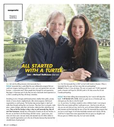 It All Started with a Turtle and Lemonade Day featured in 002 Magazine April 2013 edition - page 1