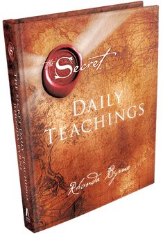 THE SECRET DAILY TEACHINGS – Many tools to help you to live the teachings of The Secret every day. Check out the Daily Teachings products!