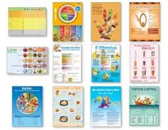 12 Nutrition Posters Value Set * Details can be found by clicking on the image.