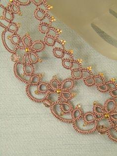 Collar de Venus kit de encaje de aguja y patrón por Happyland87