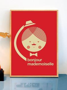 bonjour-mademoiselle-poster