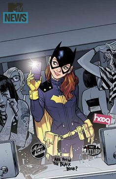 Batgirl is getting a reboot/relaunch by Cameron Stewart, Brenden Fletcher and Babs Tarr.  And even her jacket is leather, not spandex.