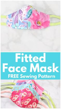 Sewing Techniques 393009504986318634 - Learn How to Easily Sew a Fitted Surgical Face Mask With This Step-By-Step Tutorial With Video Source by michelejalabert Small Sewing Projects, Sewing Projects For Beginners, Sewing Tutorials, Sewing Hacks, Sewing Crafts, Sewing Tips, Dress Tutorials, Baby Quilt Tutorials, Scrap Fabric Projects