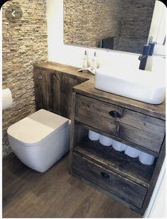 Toilet And Basin Unit, Toilet Vanity Unit, Wooden Bathroom Vanity, Sink Vanity Unit, Toilet Sink, Small Bathroom Vanities, Bathroom Vanity Units Uk, Small Vanity Unit, Wooden Vanity Unit