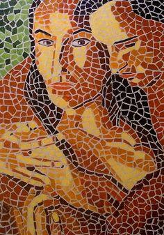 Art: Hugged by Artist Mats Eriksson