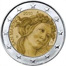 2 euro commemorativo san marino 2010