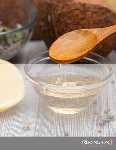 La miel es una gran aliada, combina dos cucharadas de miel con media cucharada de jugo de limón y déjala en el rostro por 15 minutos ¡tu piel se sentirá increíblemente tersa! Serving Bowls, Tableware, Beautiful, Juices, Honey, Dinnerware, Tablewares, Dishes, Place Settings