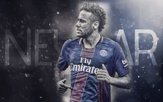 壁紙をダウンロードする Neymar, PSG, パリのサンジェルマン, 車椅子サッカーワールドカップブラジル, サッカースター, ハ1, フランス
