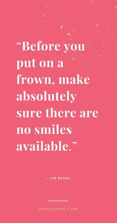 Look for the silver lining. Smile! @PCOSLiving | Quotes of Hope // Positive Mindset Quotes // Inspirational Quotes // Positivity // Keep Smiling!