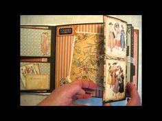 """A Ladies Diary, 9 x 9"""" album Graphic 45"""