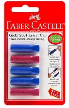 Faber Castell 5 Grip 2001 Eraser Cap for Pencils