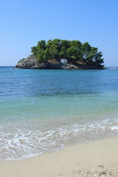 Islet of Panagia across from Parga | Greece