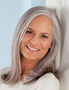 If my hair looks like this whenever I go gray, that's how it will stay.