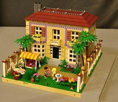 Lego Friends Villa | by lgorus Lego City, Legos, Lego Christmas Sets, Lego Ninjago, Lego Lego, Lego Minecraft, Minecraft Buildings, Lego Craft, Lego Room