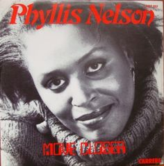 "Phyllis Nelson ‎– Move Closer  12"" Funk Soul Pop   Winyle"