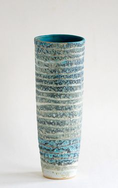 Ceramics by Sarah Perry at Studiopottery.co.uk - 2013. Fossil vessel
