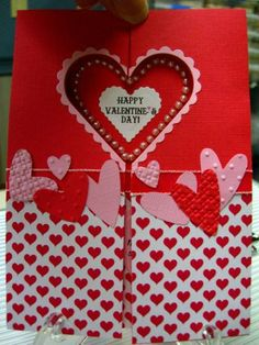 Be My Valentine by karensallen - Cards and Paper Crafts at Splitcoaststampers