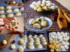 Mamoul är en traditionell och mycket omtyckt kaka i Mellanöstern som främst görs i Libanon, Syrien men även i Palestina. Mamoul serveras gärna vid högtider och festliga tillfällen. Kakorna formas i vackra och konstnärliga träverktyg som oftast är handgjorda. Man formar kakorna efter fyllningen så att man ska veta vad som finns i dem. De som är avlånga innehåller pistage, runda fylls med valnötter och de lite mindre utan florsocker med dadlar. Det är pilligt att göra mamoul och lite av en…