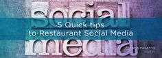 5 Quick tips to Restaurant Social Media Neon Signs, Social Media, Restaurant, Posts, Creative, Tips, Blog, Messages, Advice