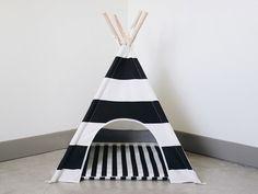 Striped Dog Teepee