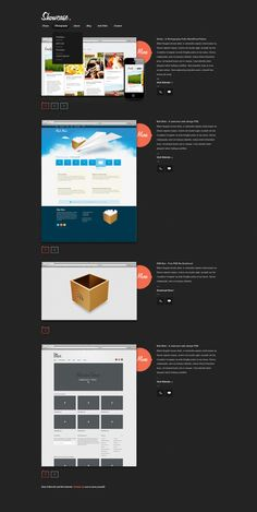 Showcase – A #Free Website #PSD #Template