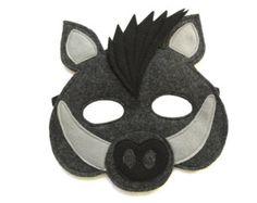 Masque Super Combo de 8 masques animaux de la par MagicalAttic