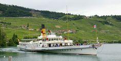 S/S Simplon - ABVL | Association des amis des bateaux à vapeur du Léman