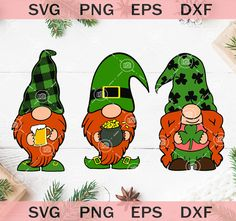 Drinkin with my gnomies patricks day svg St Patrick's day svg, Three Gnomes Holding Clover SVG, Irish Gnome SVG – SVG Trendy Studio St Patricks Day Cards, Saint Patricks, St Patricks Day Clipart, Gnome Paint, St Patrick's Day Decorations, St Paddys Day, Luck Of The Irish, St Pattys, Paint Party