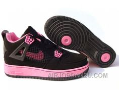 http://www.airjordan2u.com/new-arrival-womens-nike-air-airforce-1-jordan-4-shoes-black-pink.html NEW ARRIVAL WOMEN'S NIKE AIR AIRFORCE 1 & JORDAN 4 SHOES BLACK/PINK Only $85.00 , Free Shipping!