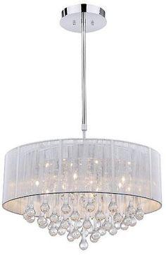 $330 Lámpara colgante Urban Class Ursa - 90 (alto) cm, diámetro 50 cm, poténcia 40 W - de acero-Latón