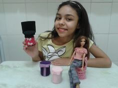 Como fazer puff para Barbie 2