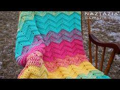 How to Crochet Double Sweet Ripple Blanket