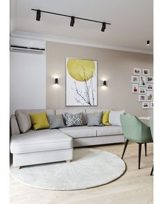 Small Living Room Lighting Ideas Bright Living Room Lighting Ideas ideas living room modern 6 Must-try living room lighting ideas to create an elegant look Living Room Color Schemes, Living Room Grey, Living Room Modern, Living Room Interior, Home Living Room, Living Room Designs, Living Room Decor, Small Living, Bright Living Rooms